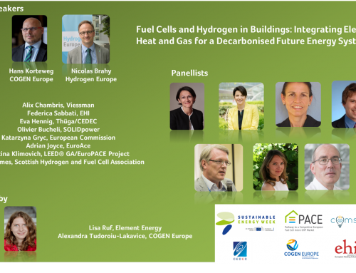 Fuel cells and hydrogen in buildings are ready to address the challenges of our energy system